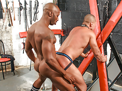 Race trains his submissive manservant Rob to obey him