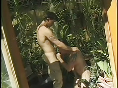 Charming youthful gardener sodomized by bad boyish sub in 1 episode