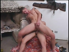 Twofold horny twinks getting in a fuck fest in 5 episode
