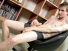 Stroking With New Hung Twink Cory - Cory Finn