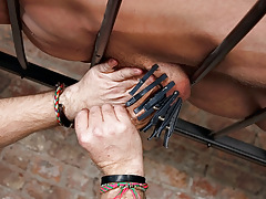 Draining A Servant Gentlemen Cock - Reece Bentley And Sebastian Kane