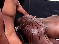 Lustful black gay guys get joy it tight