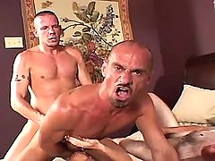 Lusty melodious homosexual humps rigid men opening