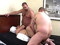 Chubby bear faggots engulf and fuck tight holes