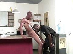 Steamy gangsta gays punishment butts