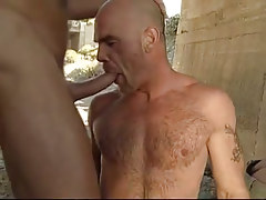 Bear twink unfathomable entrances jock under bridge